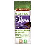 Café moulu Non décafeiné ETHIQUABLE Honduras   250 g