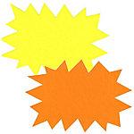 Éclatés APLI 013925 FLU Jaune, orange   25 Unités