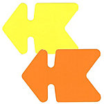 25 flèches 16x24 jaune