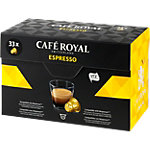 Capsules de café CAFÉ ROYAL Espresso   33 Unités