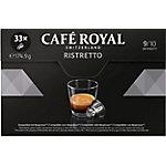 Capsules de café CAFÉ ROYAL Ristretto   33 Unités