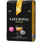 Dosettes de café Non décafeiné CAFÉ ROYAL Espresso   56 Unités