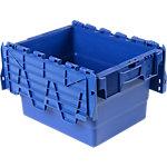 Bac navette Polypropylène 22 Viso 40 x 30 x 25 cm Bleu