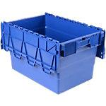 Bac navette Polypropylène 64 Viso 60 x 40 x 36,5 cm Bleu
