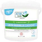 Tablette pour lave vaisselle ACTION Verte Classique   160 Unités