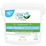 Tablette pour lave vaisselle ACTION Verte Cycle court   160 Unités
