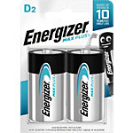 Piles alcalines Energizer Max Plus D 2 Unités