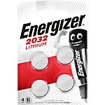 Pile bouton Energizer Lithium 3V CR2032 4 Unités