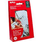 Étiquettes à fil APLI Blanc 22 x 35 mm 100 Unités