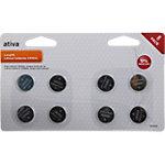 Piles bouton Ativa CR2032   8 Unités
