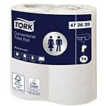 Rouleaux de papier toilette 2 épaisseurs Tork Advanced   4 Rouleaux