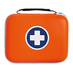 Trousse de premiers secours ESCULAPE SaveBox Medium 18 (H) x 23 (l) x 7 (P) cm Orange