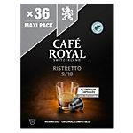 Café Non décafeiné CAFÉ ROYAL Ristretto   36 Unités