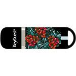 Clé USB KeyOuest Hibiscus 16 Go Noir