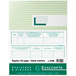 Registre antiquaire Exacompta Exacompta 110 g