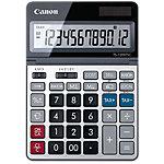 Calculatrice de bureau Canon TS 1200TSC 12 Chiffres Gris