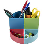 Pot à crayons Exacompta THE QUARTER CLIMATE NEUTRAL 12 x 12 x 8,3 cm Assortiment