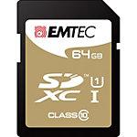 Carte mémoire MicroSD EMTEC Gold 64 Go microSDHC