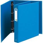 Classeur à anneaux Exacompta CleanSafe 4 anneaux 30 mm Carton A4 Bleu