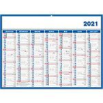 Calendriers Bouchut Grandrémy Économique 2021 Blanc   5 Unités