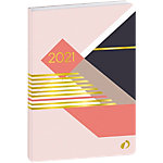 Agenda semainier Quo Vadis Le semainier à l'horizontale ! 1 Semaine sur 2 pages 2020, 2021 Rose