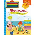 Cahier de vacances Larousse Montessori