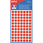 Pastilles adhésives APLI Apli Rouge 462 Unités