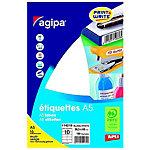 Étiquettes adhésives APLI 114019 Blanc 160 étiquettes 160 étiquettes