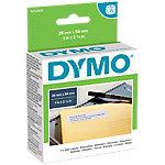 Rouleau d'étiquettes DYMO LabelWriter LW 25 x 54 mm Blanc   500 Étiquettes