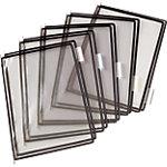 Pochettes format A4 à pivot pour pupitre incliné Liderpapel Noir   10 Unités