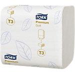 Papier toilette doux Tork Premium T3 2 épaisseurs   30 Unités de 252 Feuilles