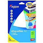 Étiquettes APLI Agipa Blanc 120 x 190 mm