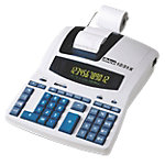 Calculatrice imprimante ibico 1231X 12 chiffres Blanc, bleu