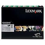 Toner Lexmark D'origine 12A5840 Noir