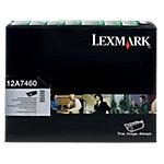 Toner D'origine 12A7460 Lexmark Noir