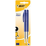 Stylo bille rétractable BIC M10 Original Bleu