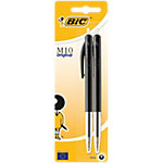 Stylo bille rétractable BIC M10 Original Noir