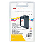 Cartouche jet d'encre Office Depot Compatible HP 78 Cyan, Magenta, Jaune C6578A