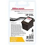 Cartouche jet d'encre Office Depot Compatible HP 21 Noir C9351A