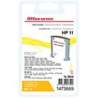 Cartouche jet d'encre Office Depot Compatible HP 11 Jaune C4838A