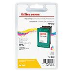 Cartouche jet d'encre Office Depot Compatible HP 342 Cyan, Magenta, Jaune 1473810