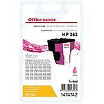 Cartouche jet d'encre Office Depot Compatible HP 363 Magenta C8772EE