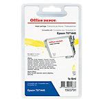 Cartouche jet d'encre Office Depot Compatible Epson T0714 Jaune T017440