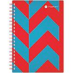 Cahier petits carreaux reliure intégrale Foray Extreme A5 Multicouleur 200 Pages   100 Feuilles