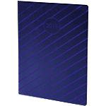 Agenda Quo Vadis Iris 2019 1 Semaine sur 2 pages 21 (H) x 15 (l) cm Bleu