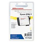 Cartouche jet d'encre Office Depot Compatible Epson 27XL Jaune T271440