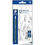 Crayon à papier bout gomme Staedtler Noris Eco HB   12