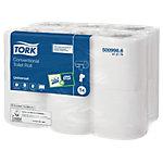Papier toilette Tork Hygiénique 2 épaisseurs   12 Rouleaux de 200 Feuilles