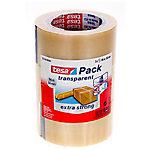 Ruban adhésif d'emballage tesapack 50 mm x 66 m Transparent 3 Rouleaux