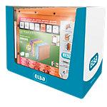 Dossiers suspendus kraft à bouton pression pour armoire ELBA Kraft Orange 10 Unités